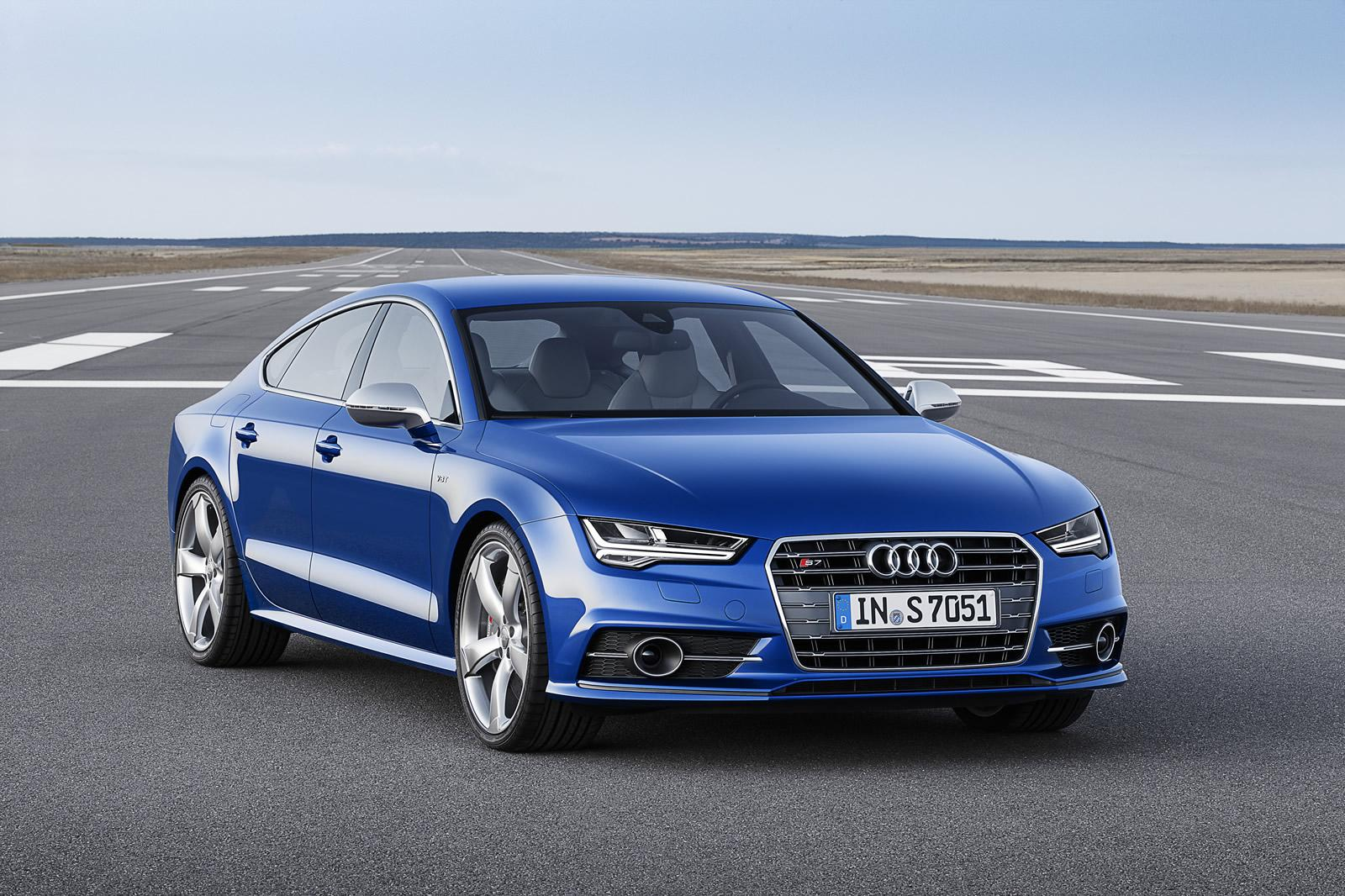 Audi S7 Sportback Gets 450 HP and Mild Facelift - Video, Photo Gallery