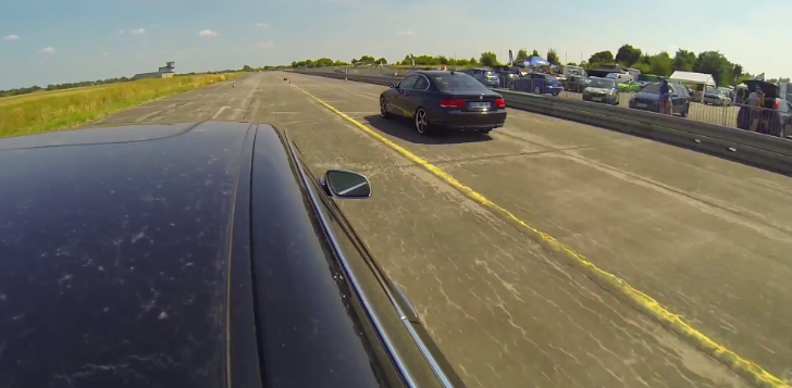 Audi S8 V10 Shamed by a BMW E92 335i [Video]