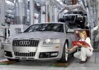 Audi workers are among the few to receive bonuses this year