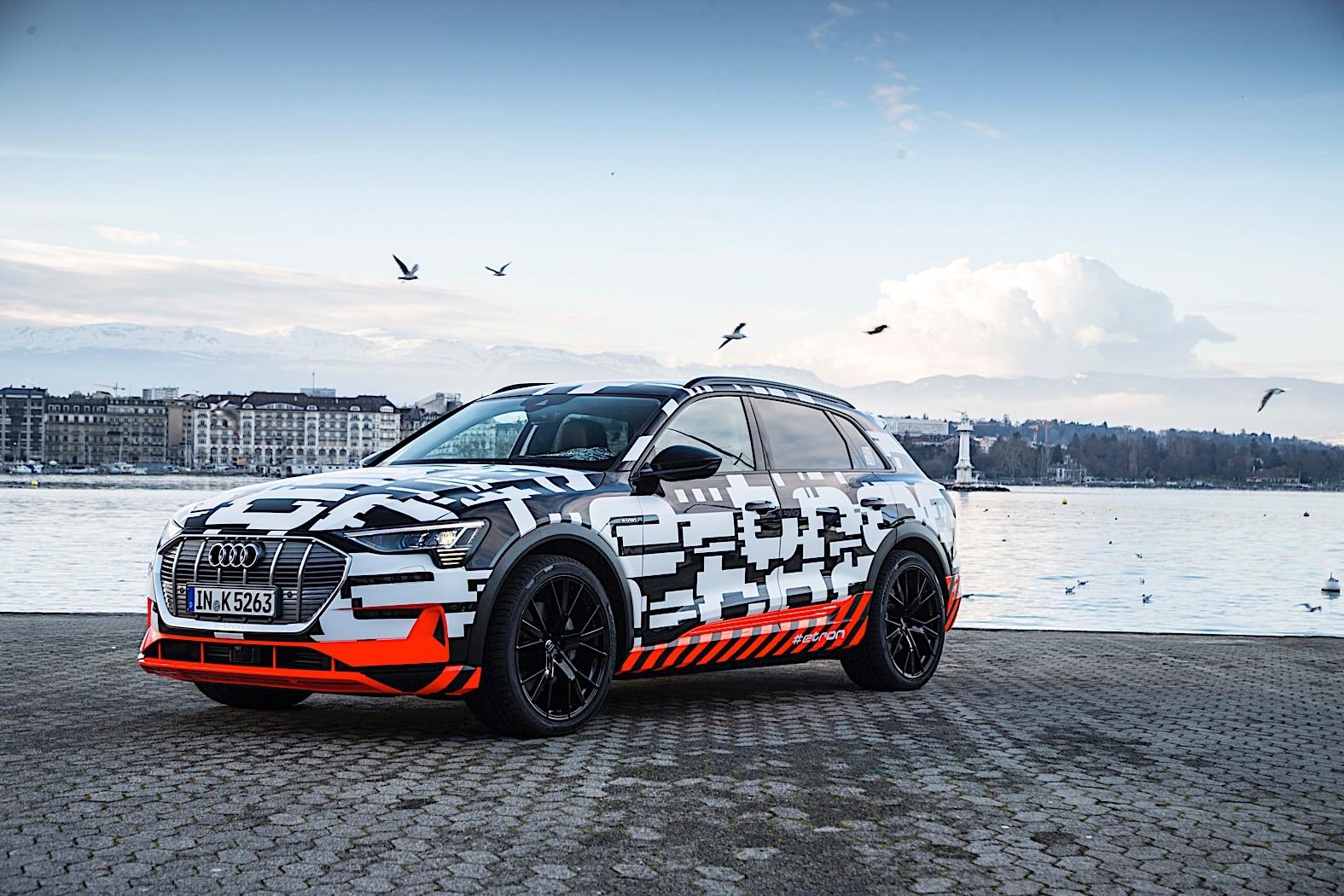 Geneva - Audi e-tron ready to order