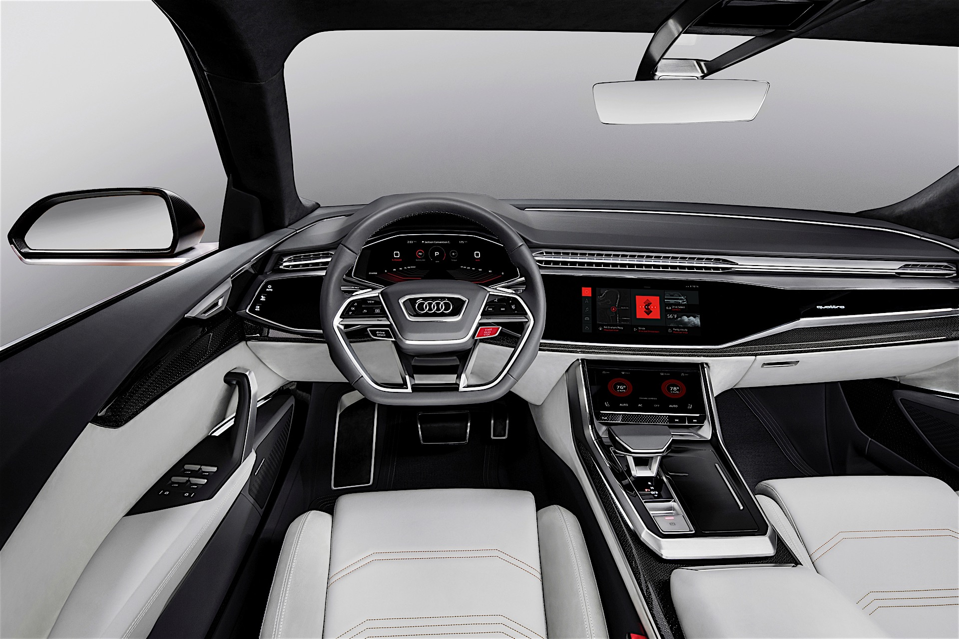 Audi Integrats Android In Its Q8 Sport Concept Expect It In