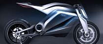 Audi Shows Very Cool Motorcycle Concept [Photo Gallery]