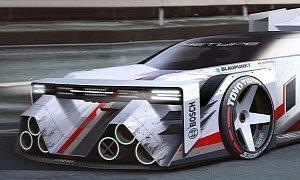"Audi Sport Pikes Peak ""Beast"" Is a Boxy Quattro Tribute"
