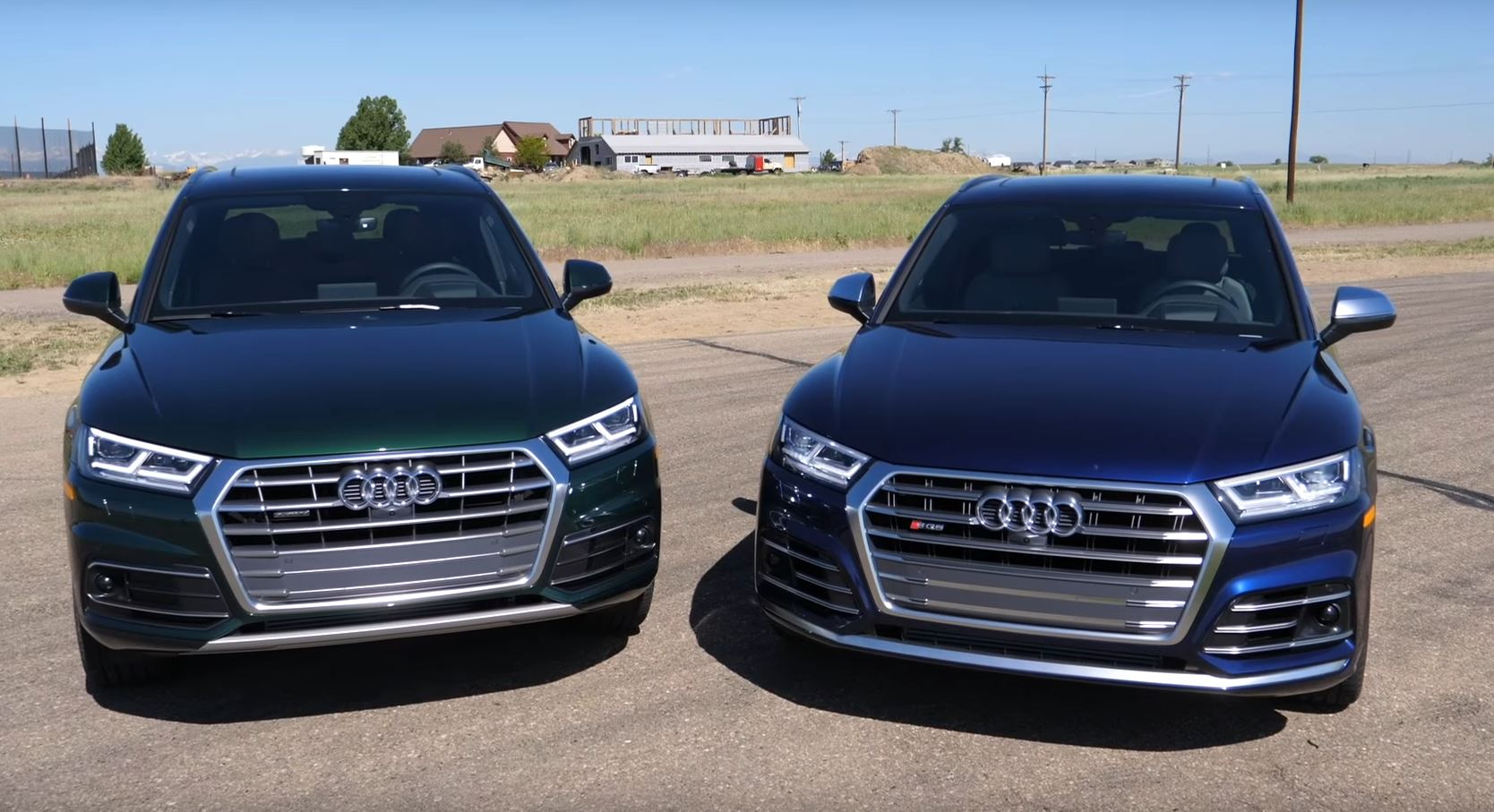Audi Sq5 Vs Q5 Comparison Includes Performance Test