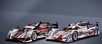 Audi Takes First 4 Positions at Spa 2012