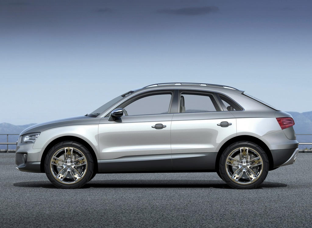 The Q3 Is Said To Be Based On Audi Cross Coupe Quattro Concept