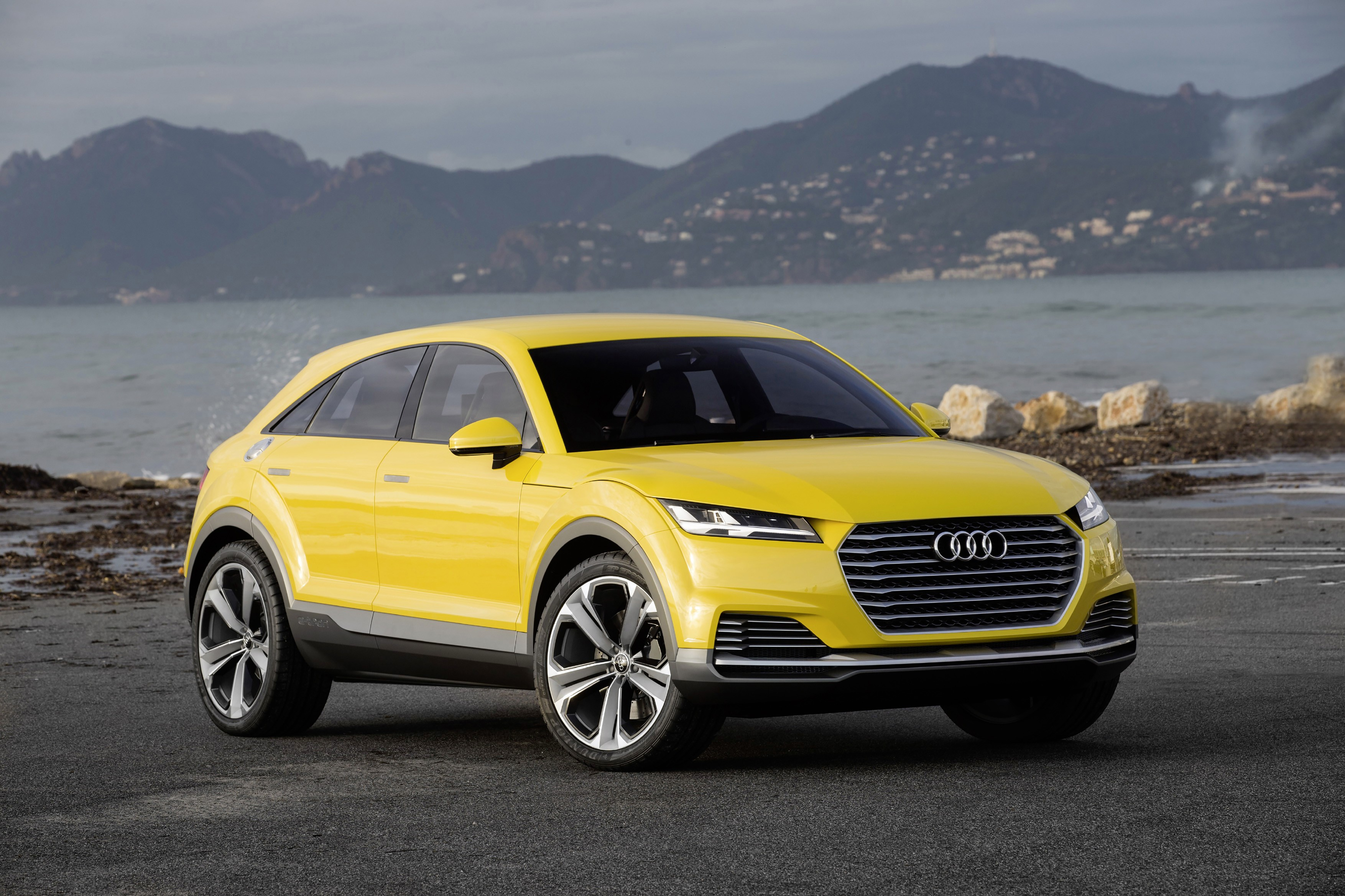 Audi to Launch TTQ Offroader in 2017 Due to Fight With Fiat Over Q4 Name - autoevolution