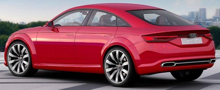 Audi TT Four-Door Body Style Could Happen In Electric Form ...