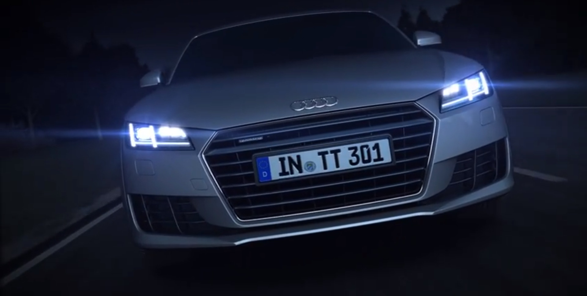 Audi Tt Matrix Led Headlights Detailed In New Promo