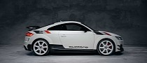 """Audi TT RS """"40 Years of Quattro"""" Has Collector Vibe for RS 3 Plus RS 5 Money"""