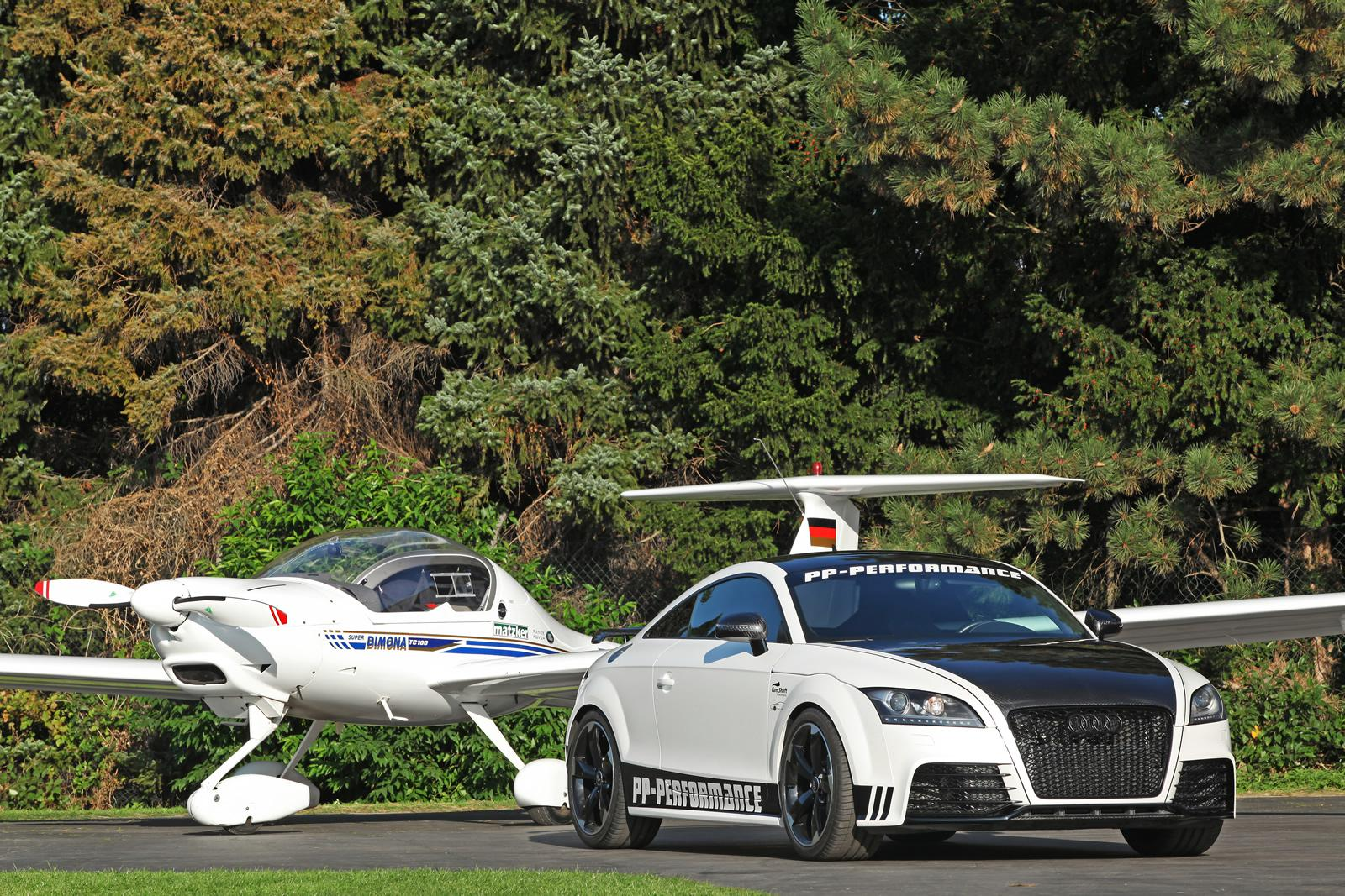 Audi Tt Rs Black White Edition By Pp Performance And Cam Shaft Autoevolution 2013 audi tt rs by pp performance
