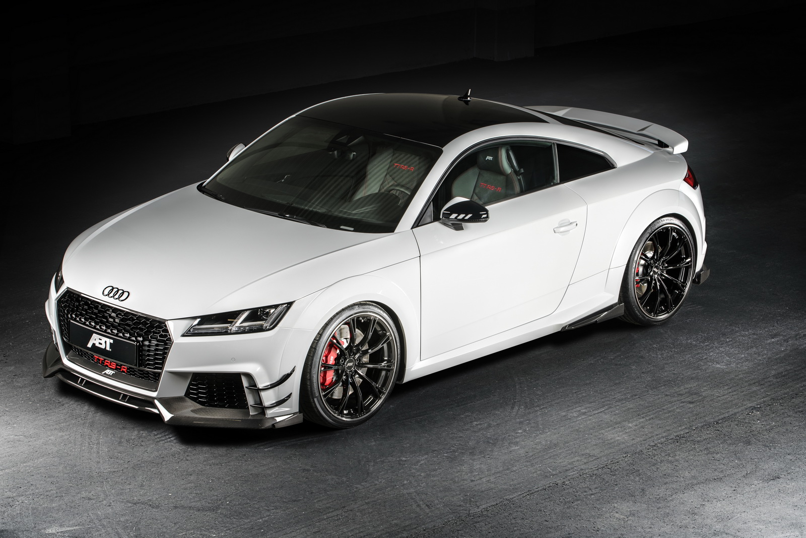 audi tt rs r bringing 500 hp of abt tuning to geneva autoevolution. Black Bedroom Furniture Sets. Home Design Ideas