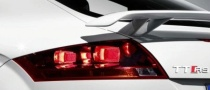 Audi TT-RS Teaser Released Prior to 2009 Geneva Motor Show