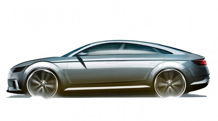 Audi Tt Sportback Concept Sketch Emerges Ahead Of Alleged Paris Debut Updated Autoevolution