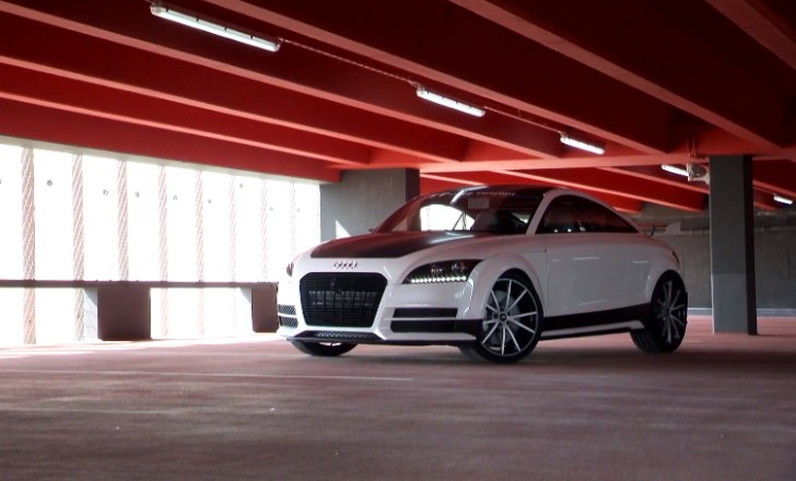 Audi TT ultra quattro concept Makes Video Debut [Video][Photo Gallery]