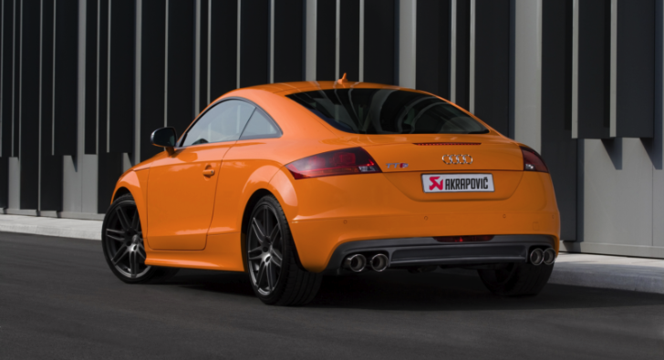 Audi TTS Receives Akrapovic Exhaust