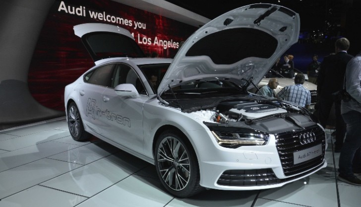 How To Pronounce Audi >> Audi Unveils h-tron quattro Concept in LA, a Revolutionary Plug-in Hybrid FCV [Live Photos ...