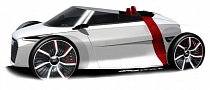 Audi Urban Concept Goes Topless at the 2011 Frankfurt Auto Show