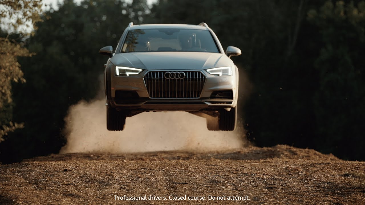 Audi USAs A Allroad Commercial Shows Rallycross Action And - Audi usa