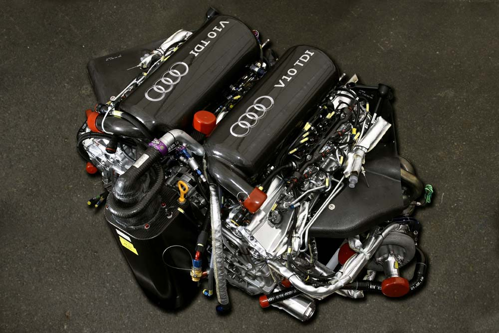 audi v10 tdi named global motorsport race engine of the. Black Bedroom Furniture Sets. Home Design Ideas