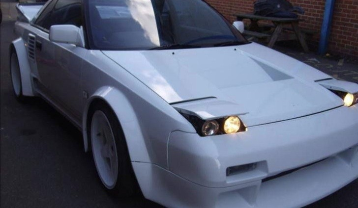 Audi V8 Swapped Toyota Mr2 For Sale Pocket Rally Car