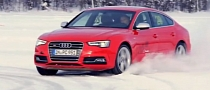Audi Wants You to Drift Its Cars on Frozen Lakes [Video]