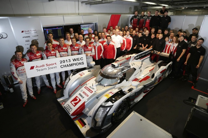 Audi Wins the 2013 World Endurance Championship