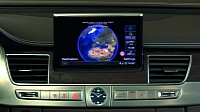 Audi A8 MMI with Google Maps