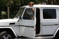 Audrina and her new Mercedes G Wagon