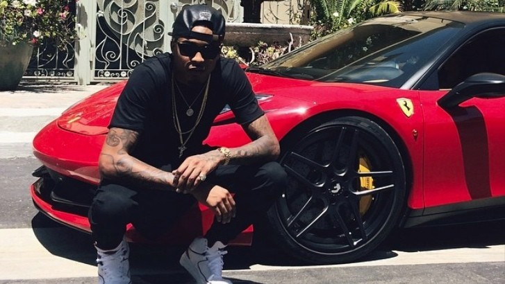 August Alsina And Nicki Minaj Join Forces Ferrari 458 And Cozy Pictures Autoevolution