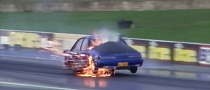 Aussie Dragster Blows Engine [Video]
