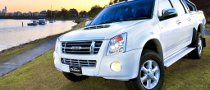 Aussie Isuzu D-MAX Pearl White Edition Released