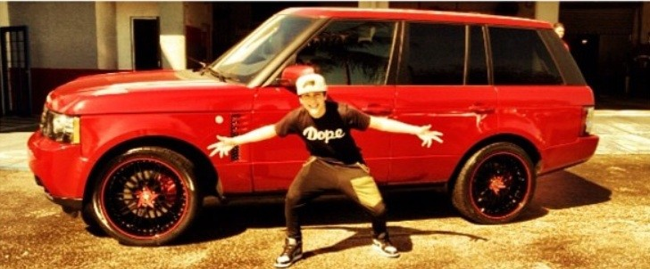 Austin Mahone Tricks Out His Range Rover