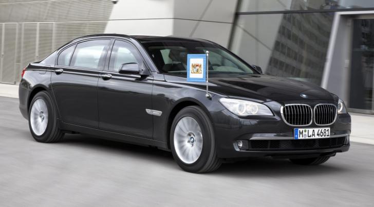 Australia buys fleet of bmw 7 series security cars