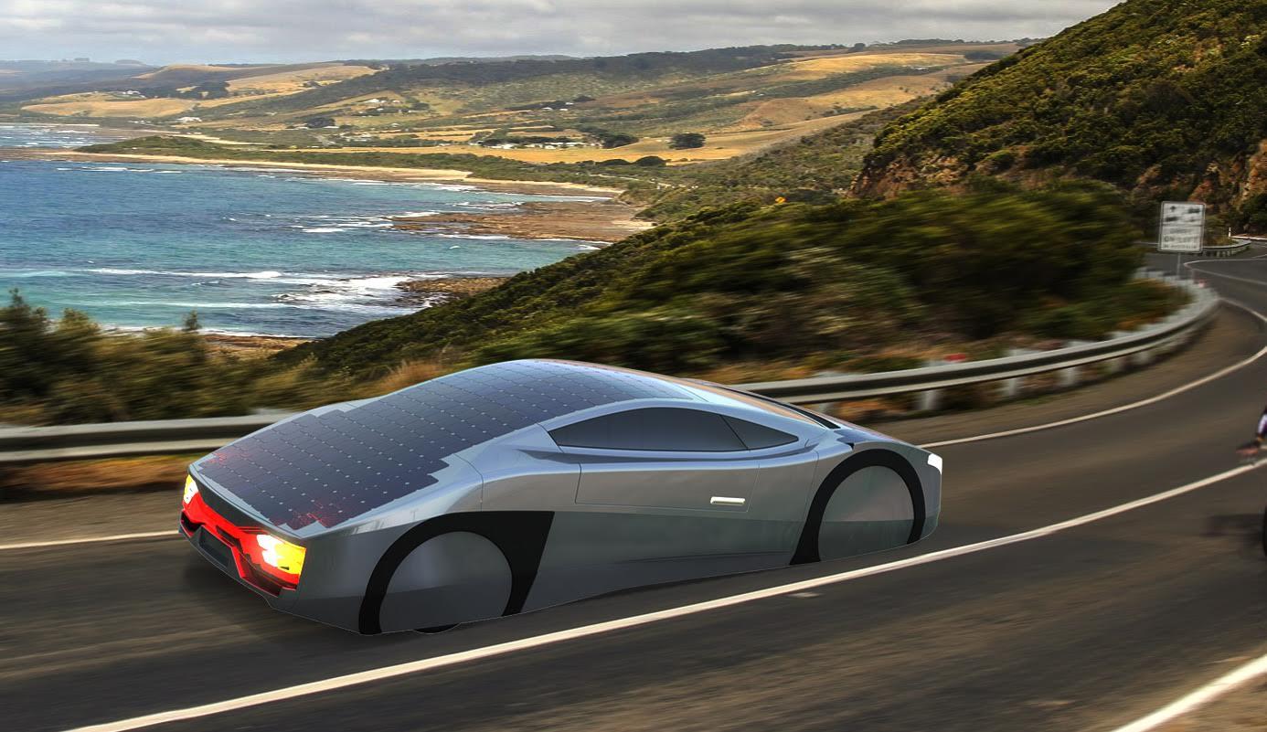 Australia Is Bringing World\'s First Solar-Powered Sportscar at SEMA ...