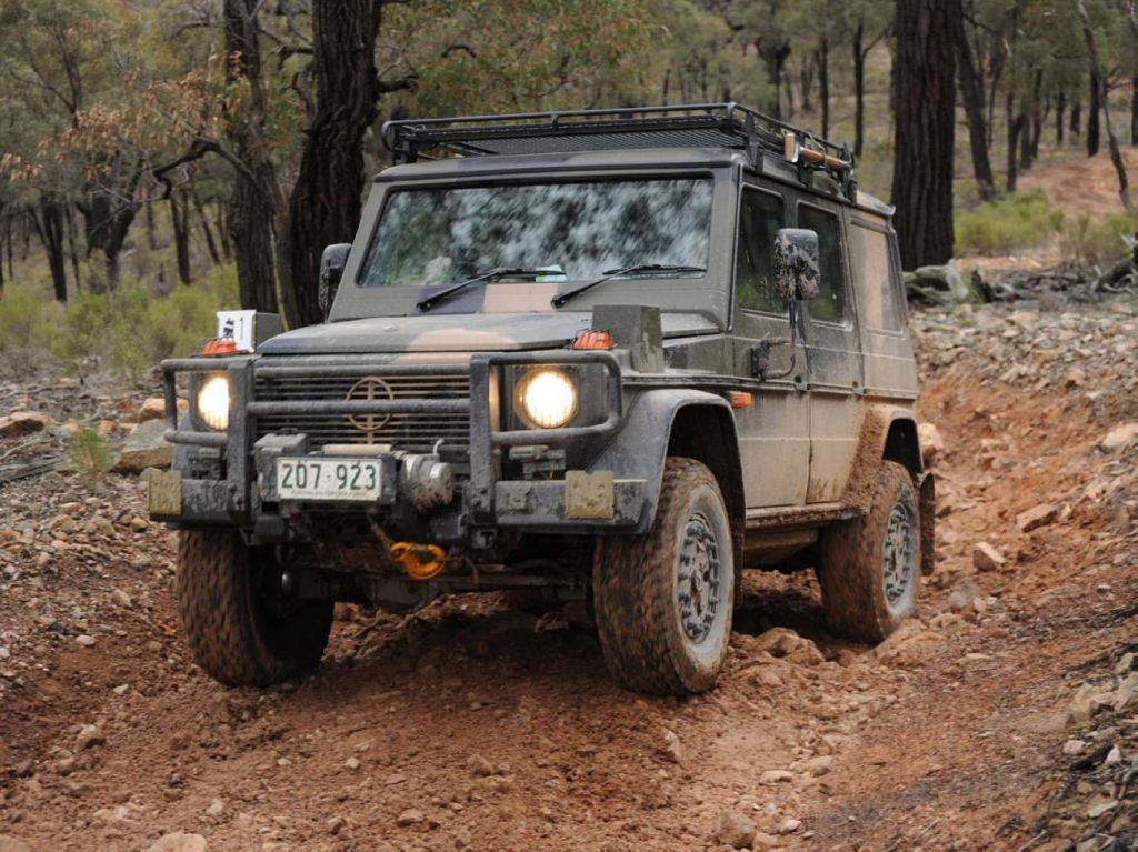 Australian army to receive custom rugged mercedes g for Mercedes benz military vehicles