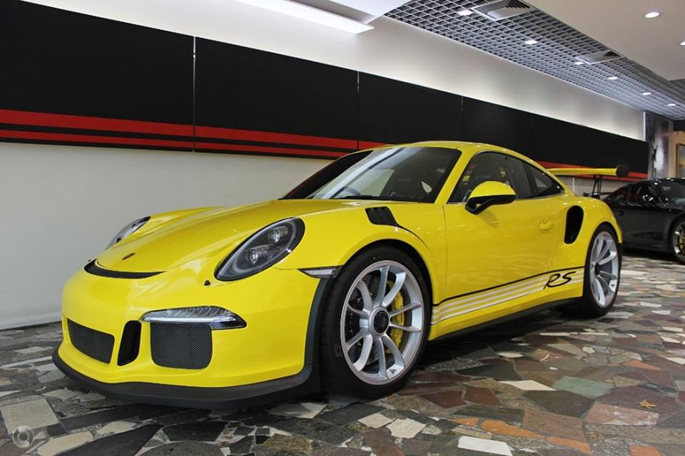 australian porsche 911 gt3 rs pdk has awesome all yellow spec autoevolution. Black Bedroom Furniture Sets. Home Design Ideas