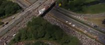 Autobahn, World's Longest Street Party [Video]
