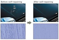 The innovative paint repairs all fine scratches in hours