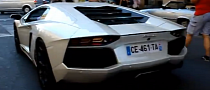 Aventador Driver Goes Berserk in Paris [Video]