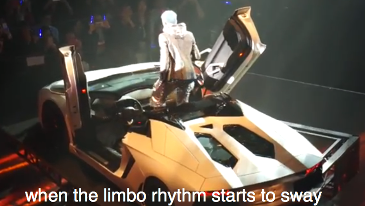 Aventador Roadster Becomes Stage Prop for Chinese Singer Aaron Kwok [Video]