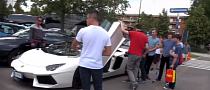 Aventador Roadster Drives Through Home of Ferrari [Video]