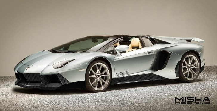 Aventador Roadster Getting New Body Kit by Misha Designs