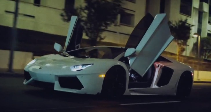 "Aventador Rolls Door-Up in Tyga's ""Switch Lanes"" [Video]"