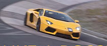 Aventador Takes on Nurburgring Karussell, Ferrari F12 Chickens Out [Video]