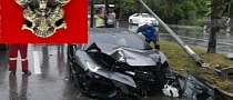 Aventador Wrecked in Thailand. Driver Says Lucky Amulet Saved His Life
