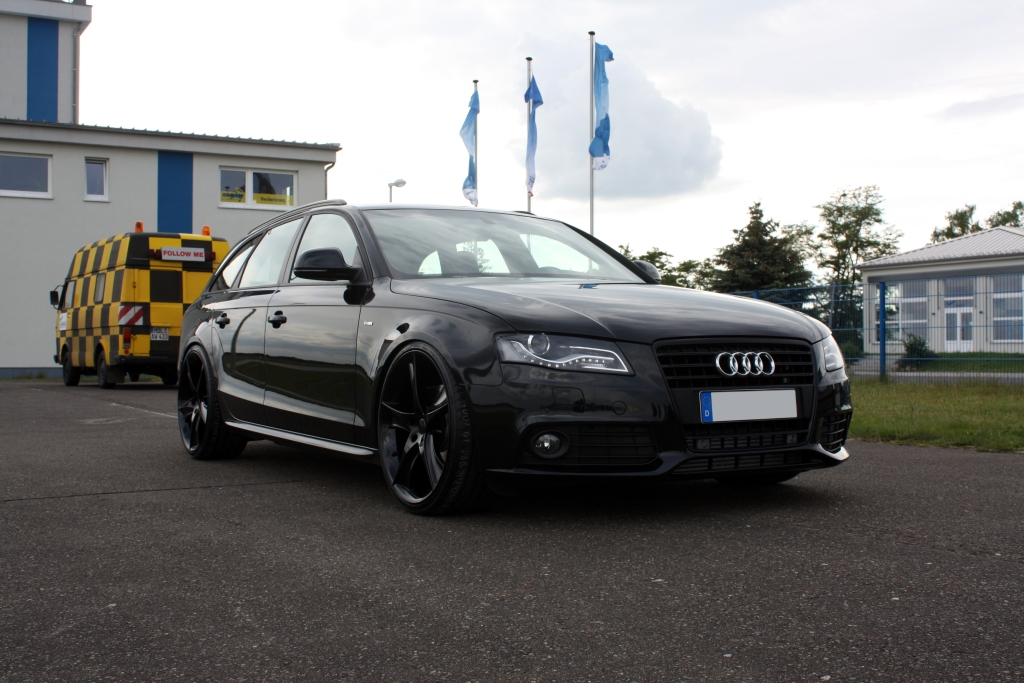 Avus Performance Audi A4 Avant Black Arrow Released Autoevolution