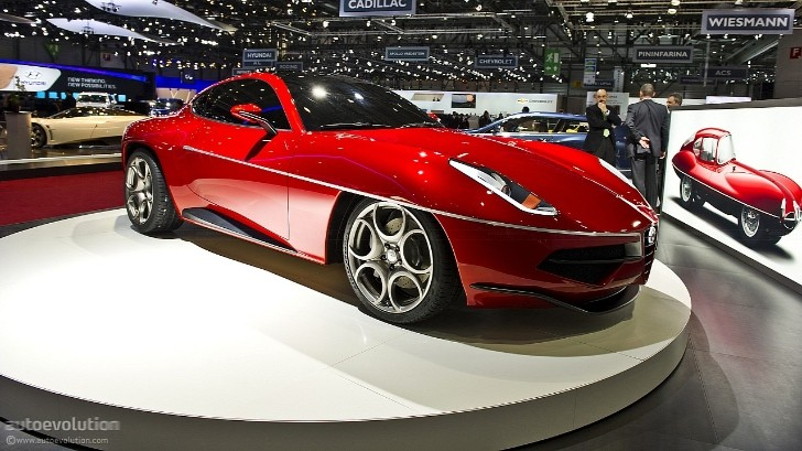Award: Hottest Car at Geneva 2012