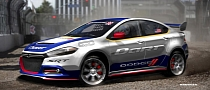 Awesome: 2013 Dodge Dart RallyCross with Travis Pastrama as Driver