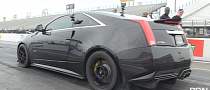 Awesome CTS-V Pulls 9s at Drag Strip [Video]